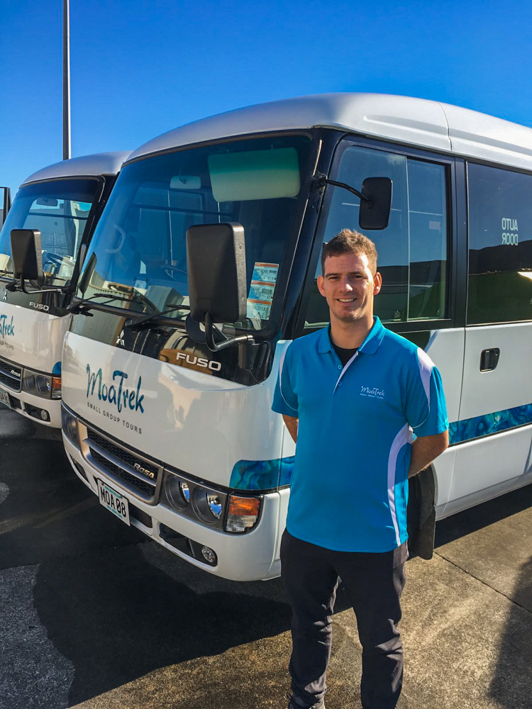 Fleet Manager Charlie Cavolo