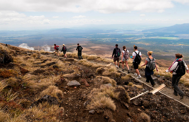 Visit Tongariro National Park for Day Walks