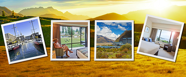Scenic New Zealand accommodation images
