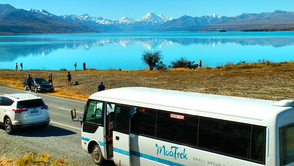 Lake Pukaki Mt Cooks Views - Driving New Zealand for Tourists