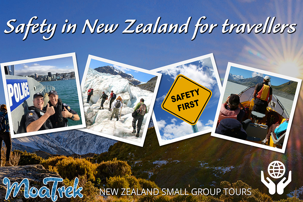 Safety in New Zealand for Travellers Images