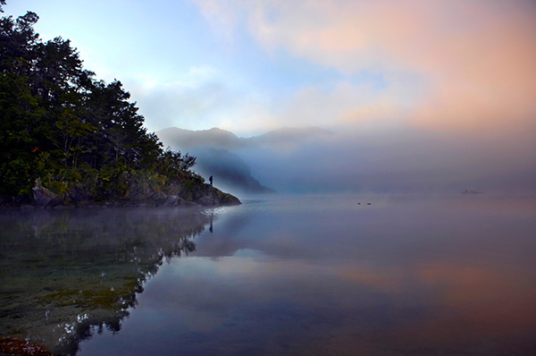 Lake Waikaremoana sunset, Te Urewera National Park - Chris McLennan