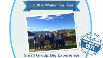 All the best pictures from our Winter Kea Tour