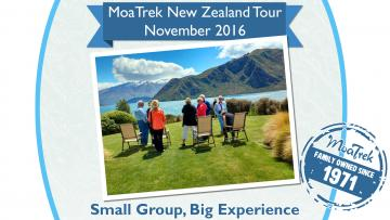 MoaTrek New Zealand Tour Highlights - November 2016 #1