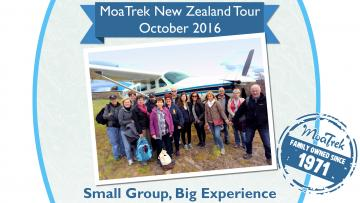 MoaTrek New Zealand Tour Highlights - October 2016