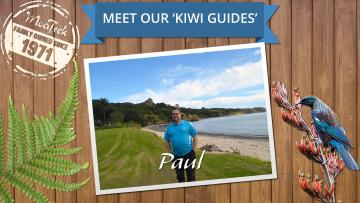 Meet our MoaTrek Kiwi Guide Paul at the Beautiful Hokianga