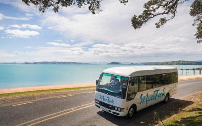 Coach touring in New Zealand