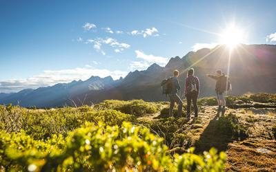 Hiking the Routeburn Track in Fiordland