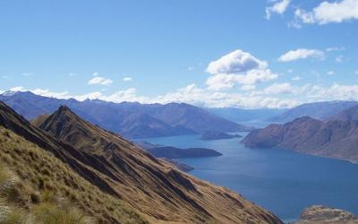 View of the Natural Wonderland around Lake Wanaka