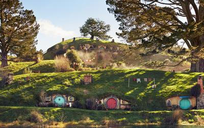 Lord of the rings filming locations Hobbiton