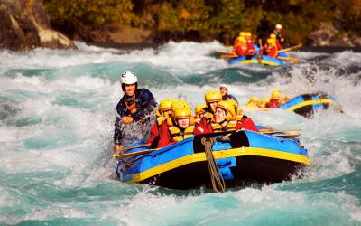 rafting in the Kawarau River, Queenstown