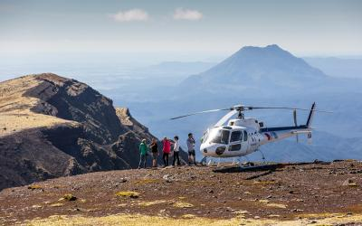 Helicopter Landing on Mount Tarawera - Rotorua Optional Activities