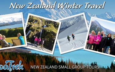 Travel photos from winter travel in New Zealand