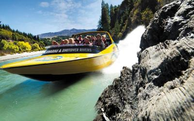 Queenstown Kawarau & Shotover Rivers Jet Boat Ride
