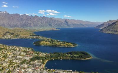 MoaTrek Queenstown Gondola Aerial View