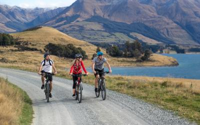 Queenstown Station to Station Mt Nicholas Farm Experience & Bike Hire