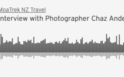 MoaTrek Guest Interview with Photographer Chaz Anderson - SoundCloud Graphic