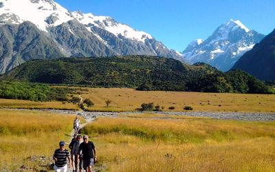 Walking Mount Cook