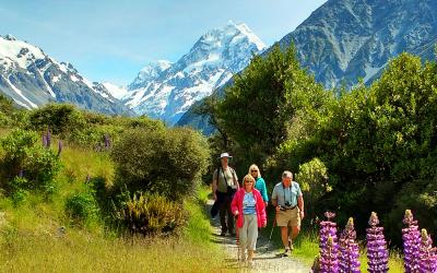Walking Mount Cook National Park
