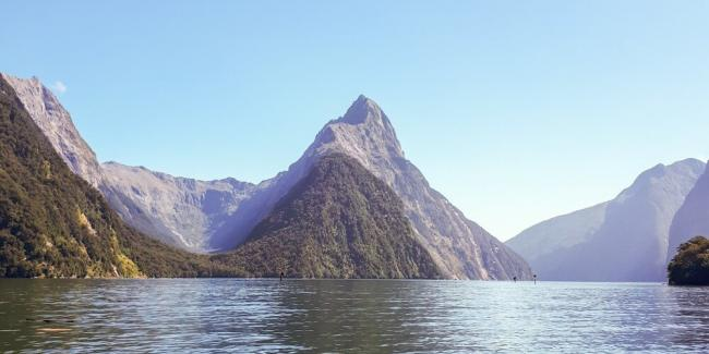 A beautiful day in Milford Sound