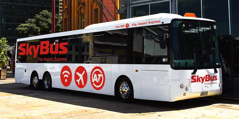 The Auckland Airport Skybus - Getting from Auckland Airport