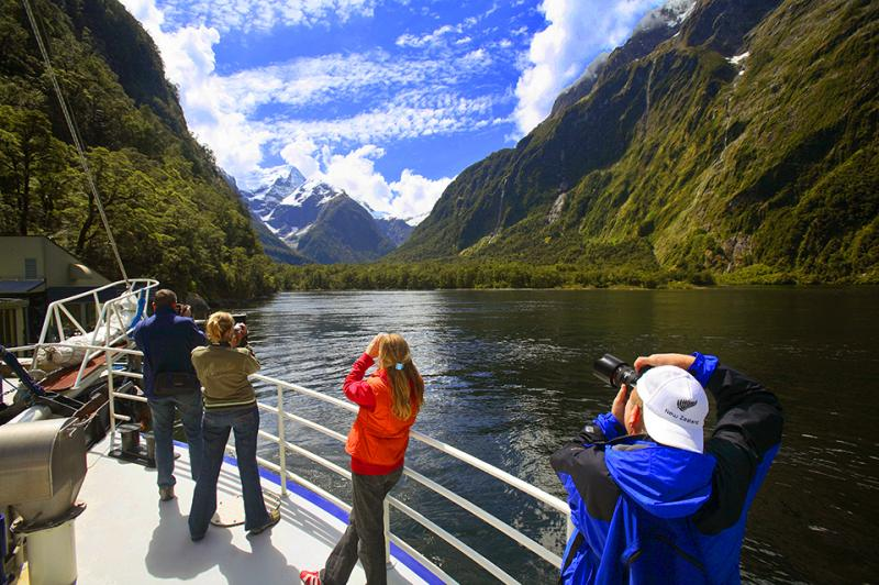 Photos from the Milford Sound Cruise - NZ South Island Itinerary