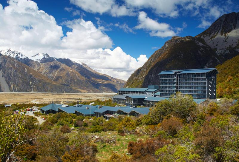 Hermitage Hotel Mt Cook - MoaTrek Tour Accommodation