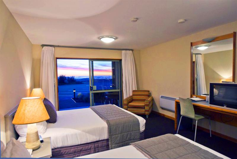 View to the ocean from your room at Punakaiki Resort - MoaTrek Tour Accommodation