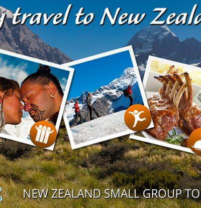 Why travel to New Zealand image montage