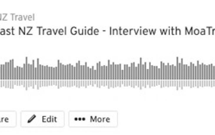 MoaTrek Guide Interview with Marilyn - SoundCloud Graphic