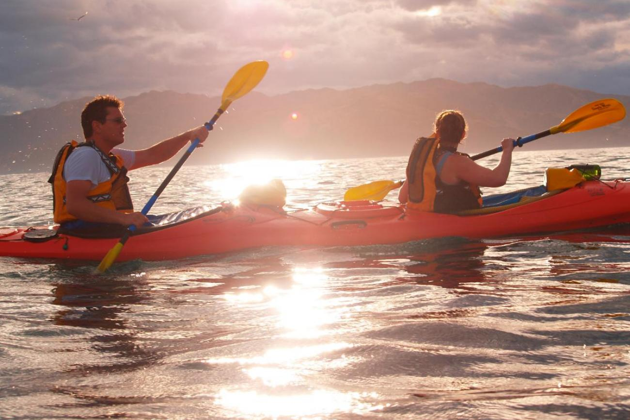 Kaikoura Kaikoura Kayaks Sunset Evening Classic