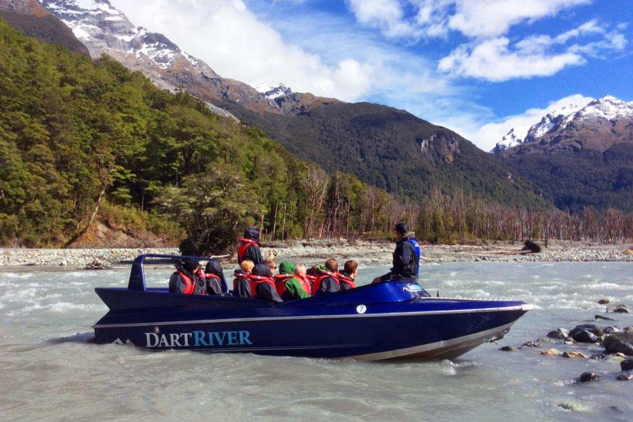 Jetboat the Dart River