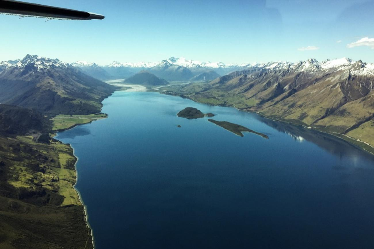 Milford to Queenstown Scenic Flight