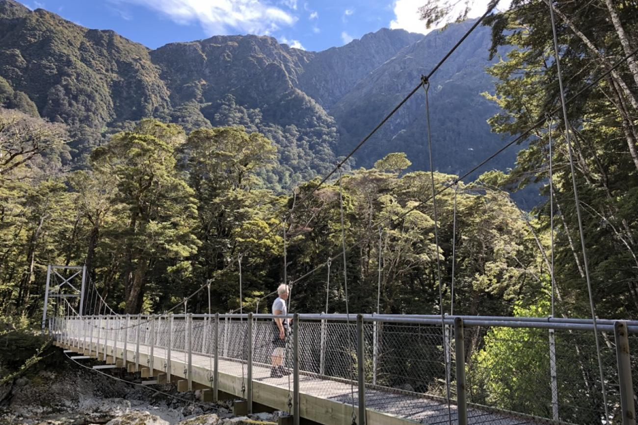 Routeburn Track Day Walk