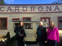 Photostop outside the Cardrona Hotel