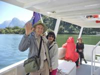 Small Group New Zealand Tours Boat Milford