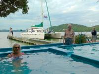 Hot pools at Lake Rotoiti, Bay of Plenty- MoaTrek Tour Gallery