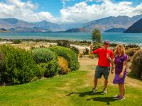 Hosted lakeside lunch at Lake Wanaka