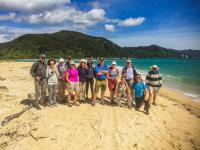 MoaTrek Group at Abel Tasman Group Guide