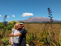 MoaTrek travellers at Tongariro National Park