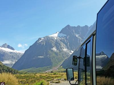 Small Group New Zealand Tours MoaTrek Coach