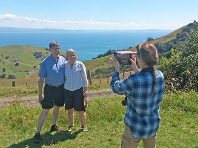 Small Group New Zealand Tours Coromandel Lookout