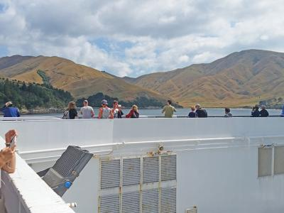 Small Group New Zealand Tours InterIslander2