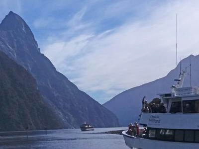 Small Group New Zealand Tours Milford Cruise