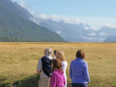 Small Group New Zealand Tours Milford Rd