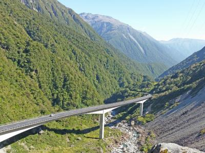 Small Group New Zealand Tours Otira Viaduct