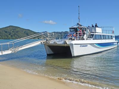 Small Group New Zealand Tours Abel Tasman Sea Shuttle