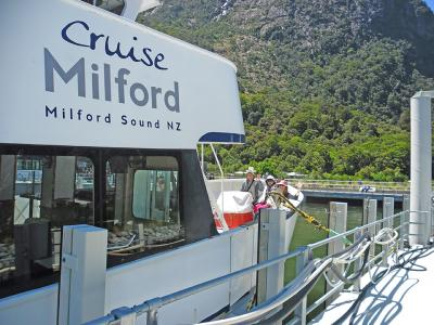 Small Group New Zealand Tours Cruise Boat