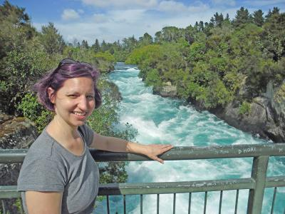 Small Group New Zealand Tours Huka Falls