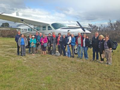 Small Group New Zealand Tours Milford Flight